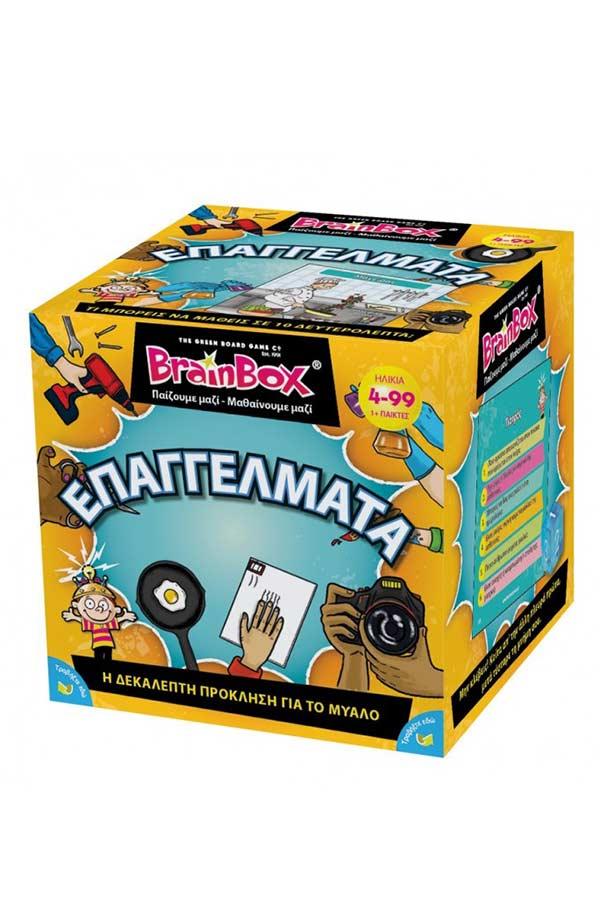 BrainBox Παιχνίδι με κάρτες Επαγγέλματα 93023