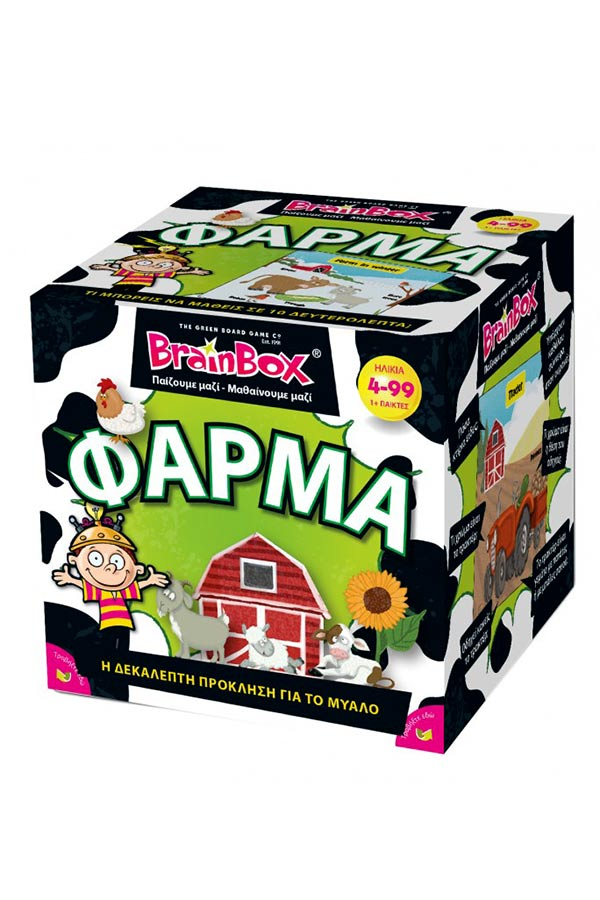 BrainBox Παιχνίδι με κάρτες Φάρμα 93047