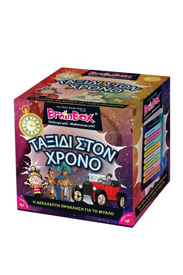 BrainBox Παιχνίδι με κάρτες Ταξίδι στον χρόνο 93037