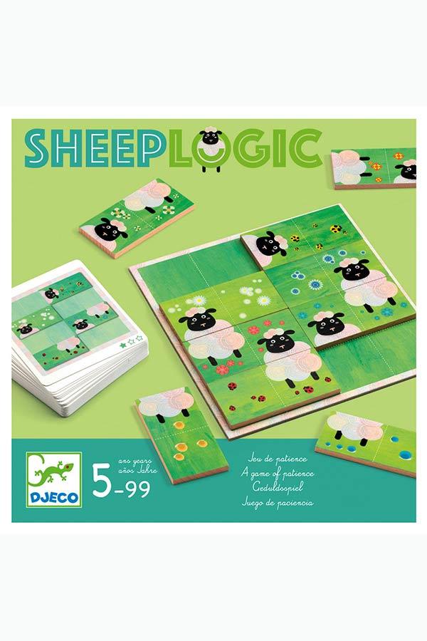 Επιτραπέζιο παιχνίδι λογικής Προβατάκια Djeco DJ08473