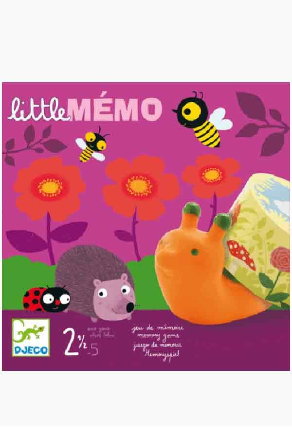 Επιτραπέζιο παιχνίδι μνήμης Little memo DJ08552