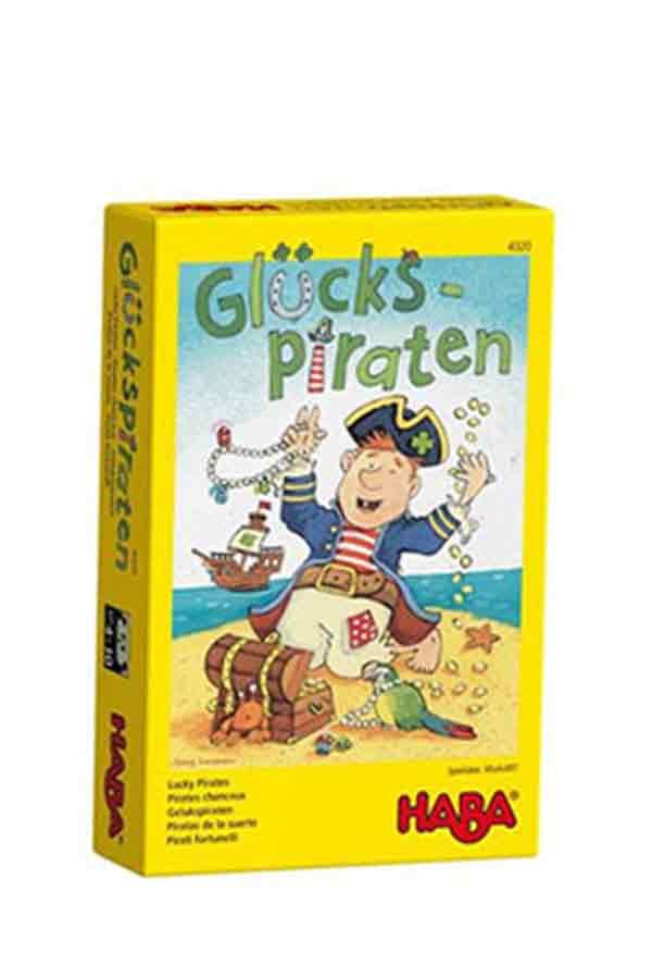 Επιτραπέζιο παιχνίδι Τυχεροί πειρατές Haba 4320
