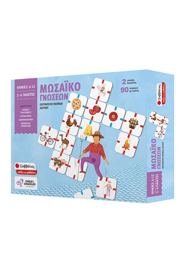 797d73e44ef Μωσαϊκό γνώσεων - επιτραπέζιο παιχνίδι λογικής ...