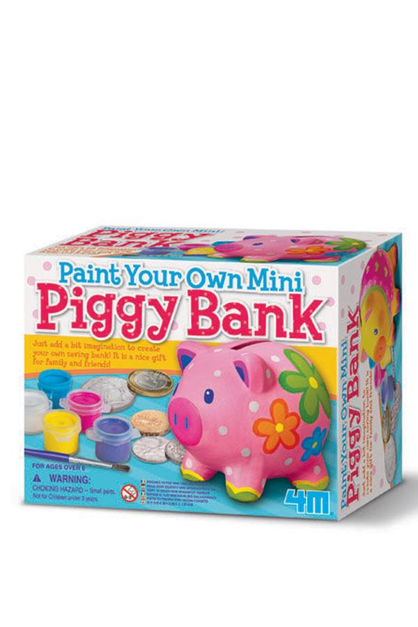 Βάψε τον δικό σου κουμπαρά Γουρουνάκι 4M toys 00-04505