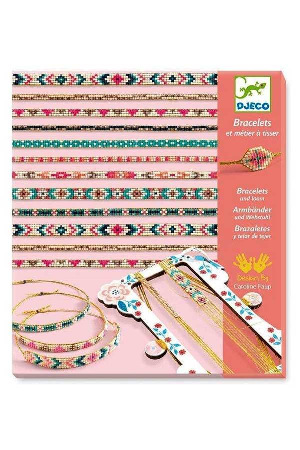 Κατασκευή κοσμημάτων με χάντρες Djeco DJ09838