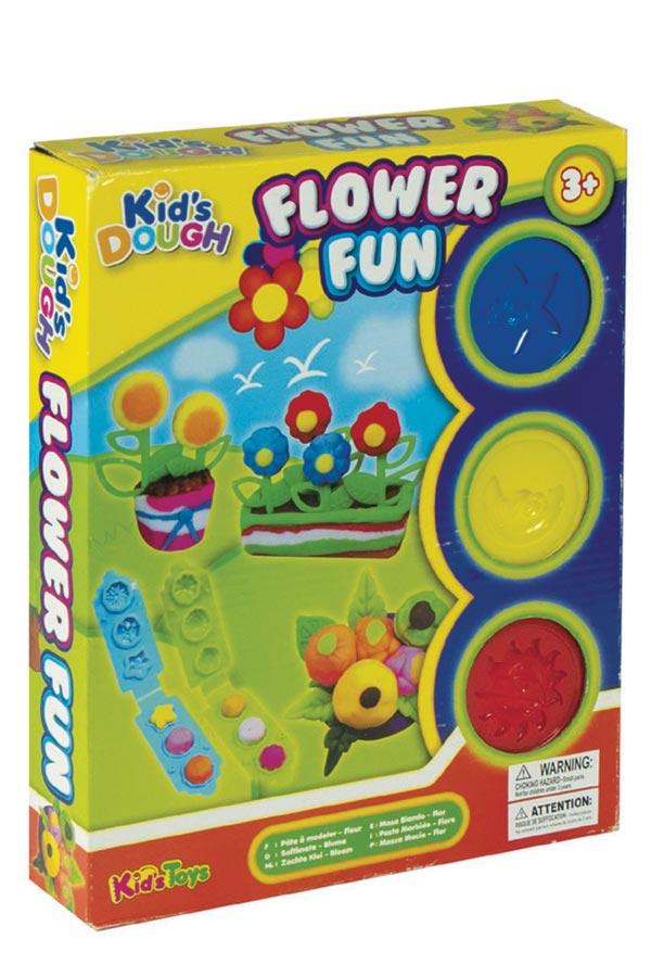 Κατασκευή πλαστοζυμαράκια με εργαλεία Flower fun Luna 0620558