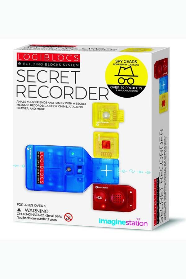 Κατασκευή Μυστικό μαγνητόφωνο LOGIBLOCS 00-06808