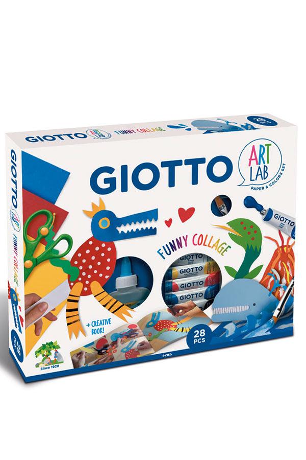 Σετ κατασκευής με χαρτόνι 28 τεμάχια GIOTTO ART LAB 581500