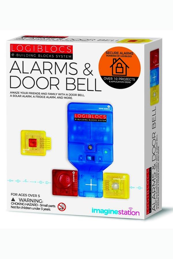Κατασκευή Συναγερμός και κουδούνι πόρτας LOGIBLOCS 00-06807