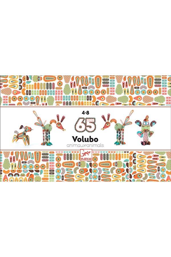 Κατασκευή χάρτινα Ζωάκια 3D τρισδιάστατο Djeco DJ05630