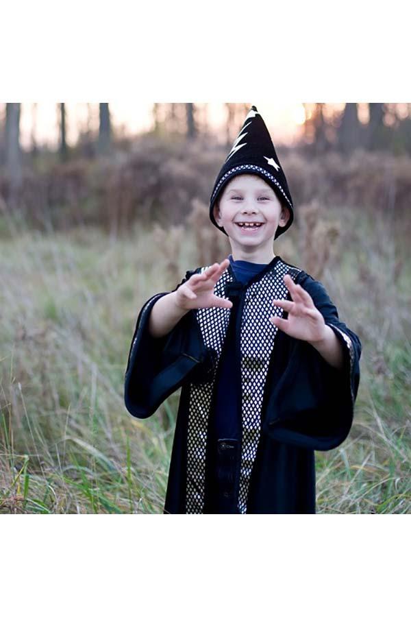 Στολή Μάγος με καπέλο μαύρο για 5-6 ετών Great Pretenders 60595