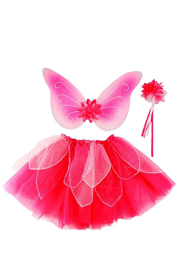 Στολή Φούστα τουτού Ροζ νεράιδα για 4-7 ετών Great Pretenders 41325