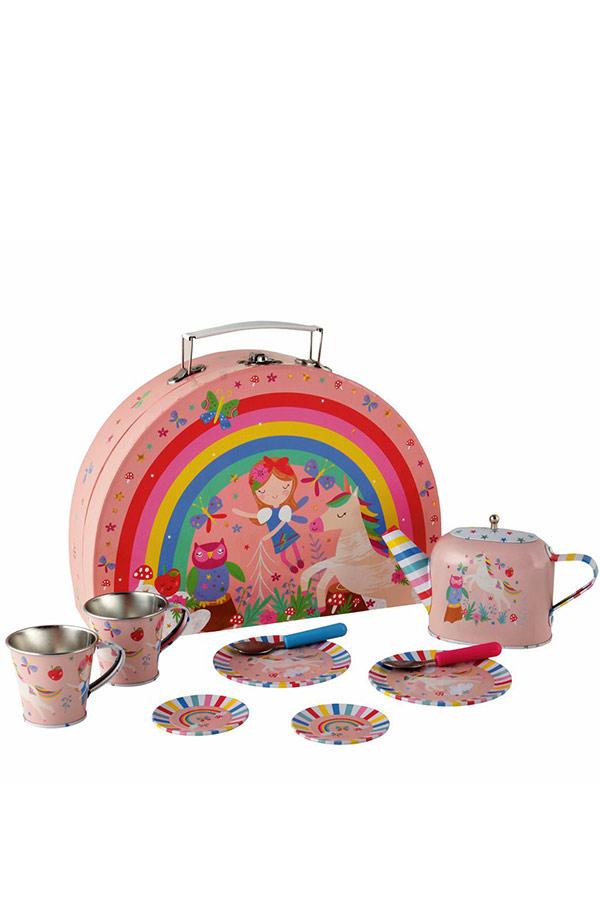Μεταλλικά κουζινικά βαλιτσάκι Rainbow Fairy FLOSS&ROCK 40P3571