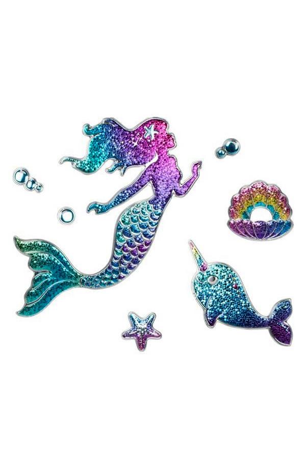8a3a595838 Διακοσμητικά αυτοκόλλητα τοίχου Mermaid TRENDHAUS 948724 ...