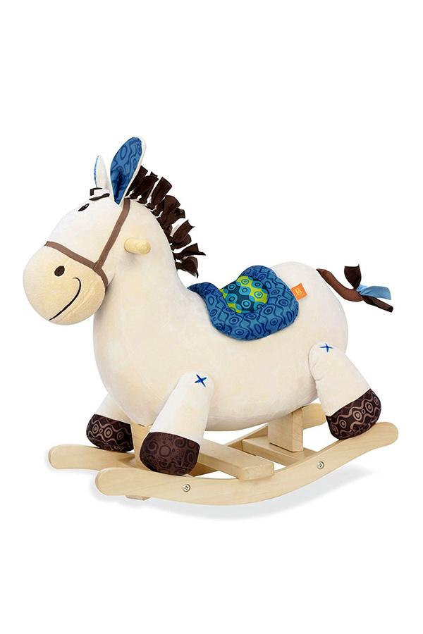 Κουνιστό αλογάκι μπλε B.Toys BX1512Z