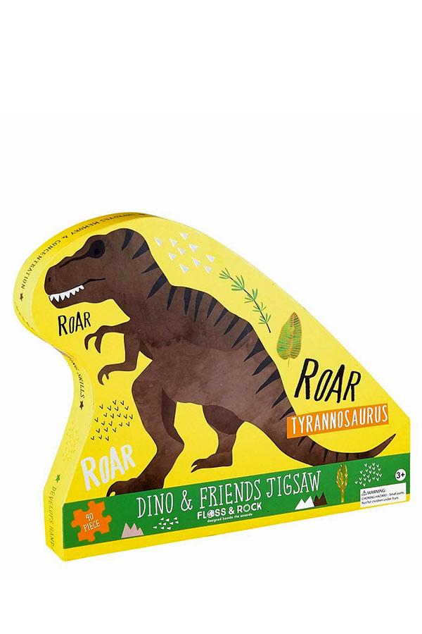 Παζλ 80 τεμαχίων Τυραννόσαυρος FLOSS&ROCK 37P3105