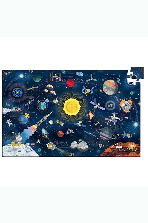 Παζλ 200 τεμαχίων Djeco Διάστημα DJ07413