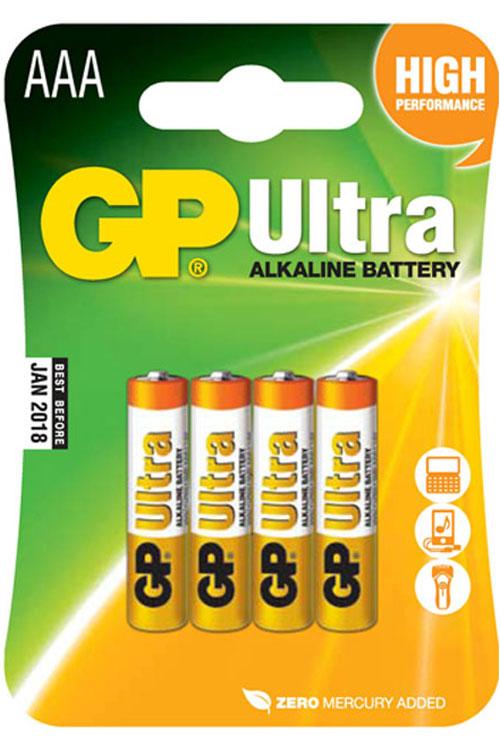 Μπαταρίες αλκαλικές GP AAA 1.5V LR03