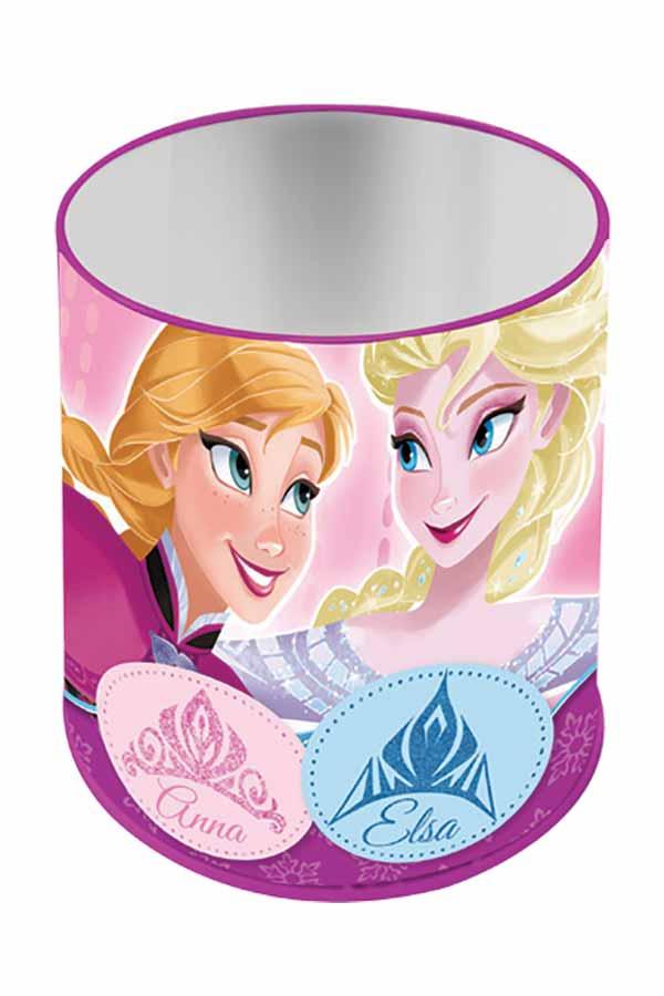 Μολυβοθήκη μεταλλική κυλινδρική Frozen Elsa and Anna 0561366
