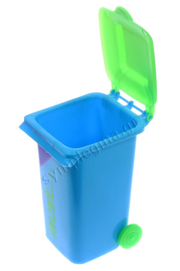 Μολυβοθήκη πλαστική κάδος must φούξια 0579027