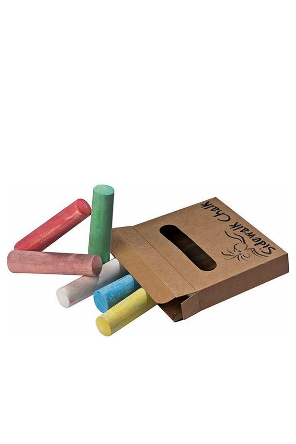 Κιμωλίες χρωματιστές πεζοδρομίου 6 τεμάχια 0910163