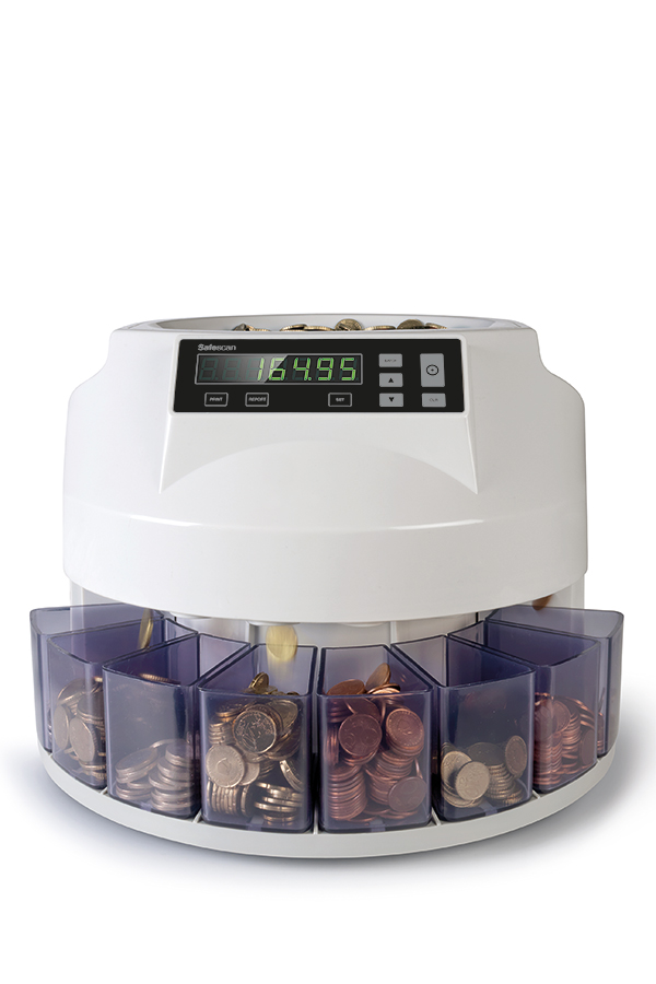 Καταμετρητής κερμάτων Safescan 1250
