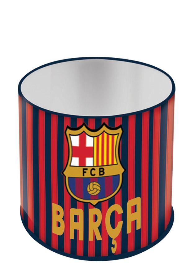 Μολυβοθήκη μεταλλική κυλινδρική FC Barcelona 0170652