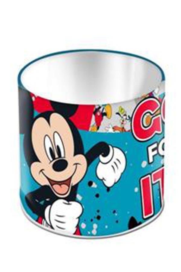 Μολυβοθήκη μεταλλική κυλινδρική Mickey Mouse 0562494