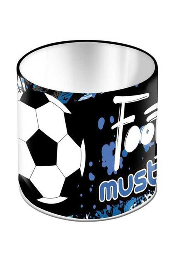 Μολυβοθήκη μεταλλική κυλινδρική must Football 000579770