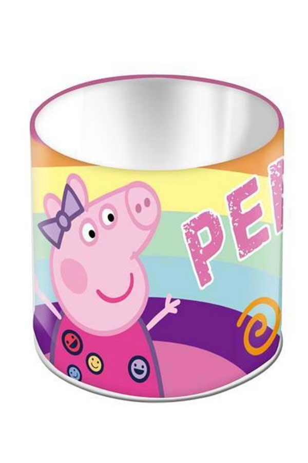 Μολυβοθήκη μεταλλική κυλινδρική Peppa pig 000482495
