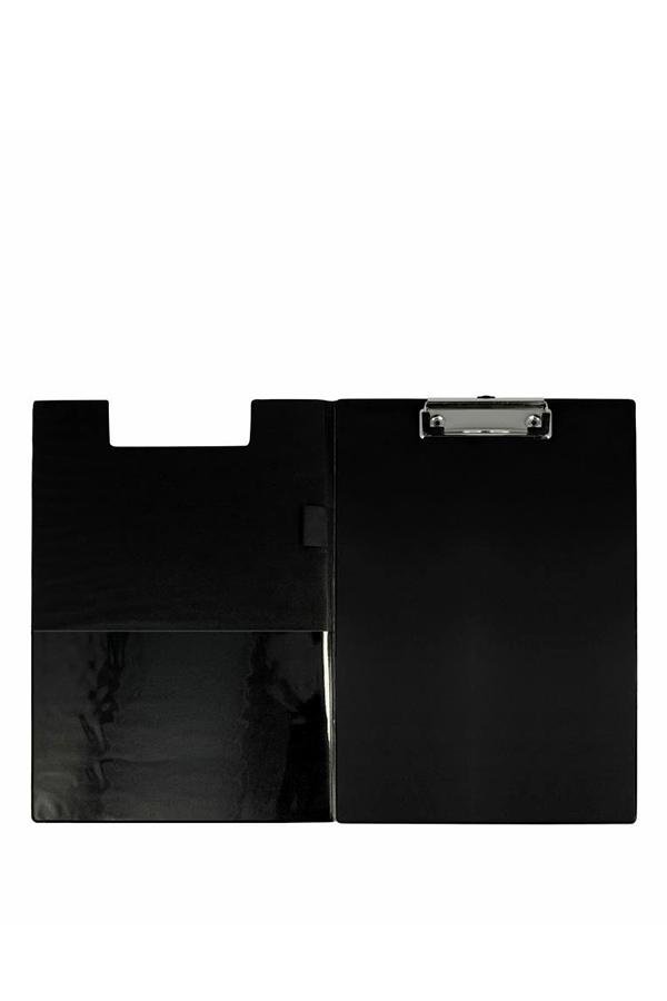 Ντοσιέ με πιάστρα και κάλυμμα πλαστικό 23x32cm μαύρο WESTCOTT E-17104