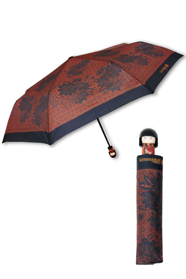 Ομπρέλα γυναικεία σπαστή Kimmidoll Tatsuyo Strong hearted 6514