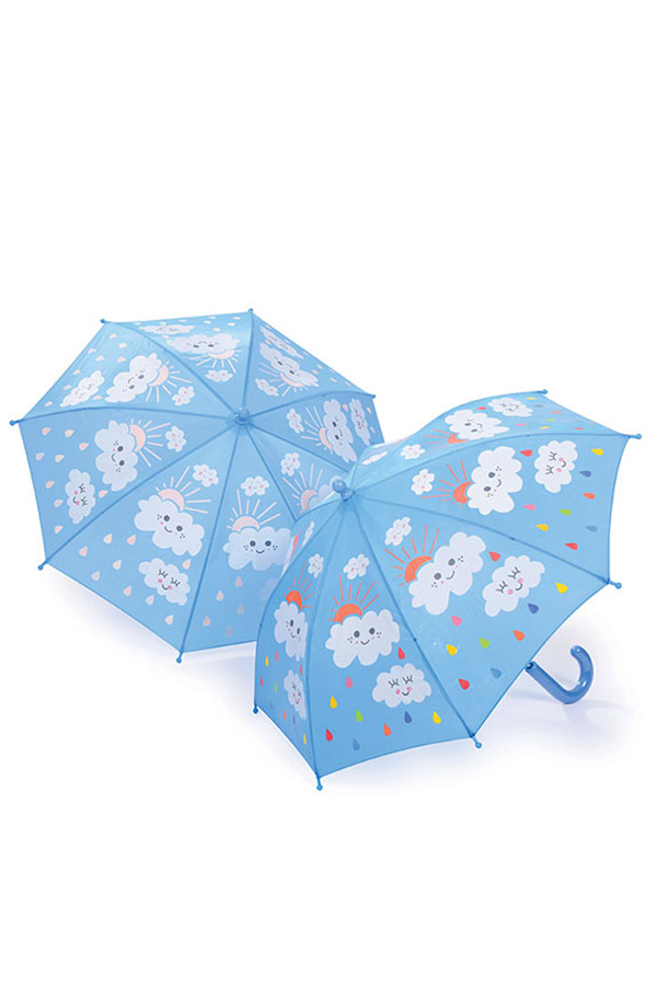Ομπρέλα παιδική μπαστούνι FLOSS&ROCK Σύννεφα 29P1690