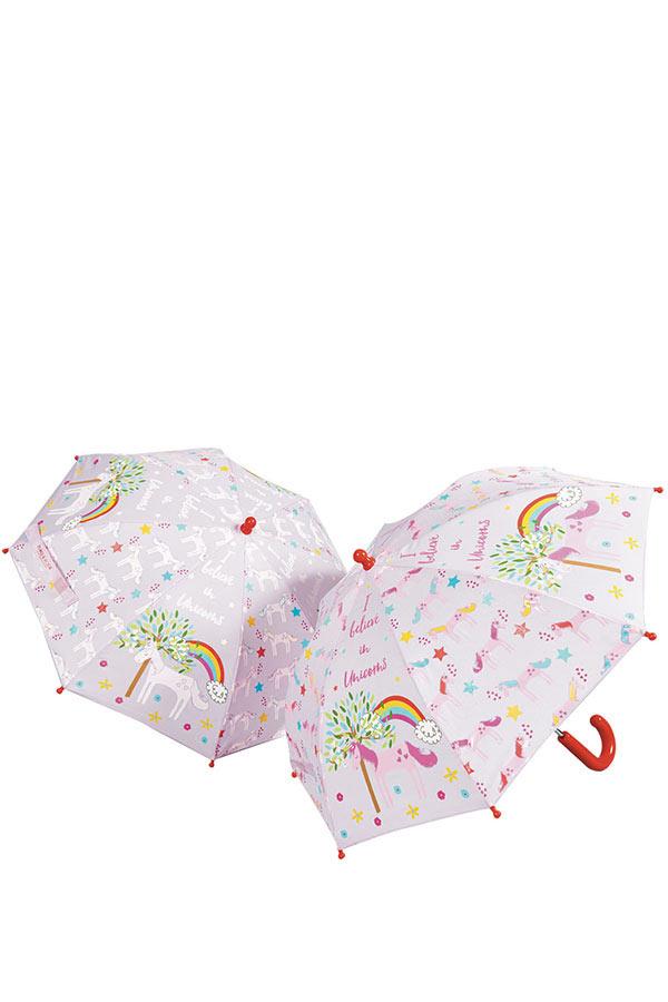 Ομπρέλα παιδική μπαστούνι FLOSS&ROCK Μονόκερος 36P2632