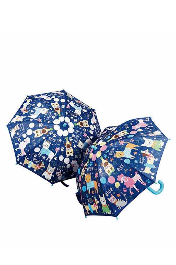 Ομπρέλα παιδική μπαστούνι FLOSS&ROCK Ζωάκια 37P3098