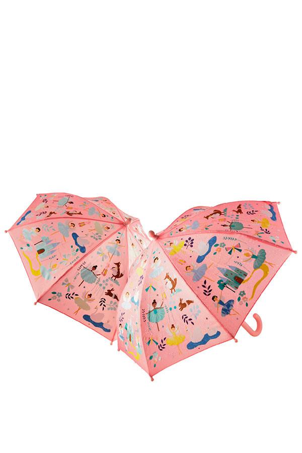 Ομπρέλα παιδική μπαστούνι FLOSS&ROCK Μπαλαρίνες 41P3650