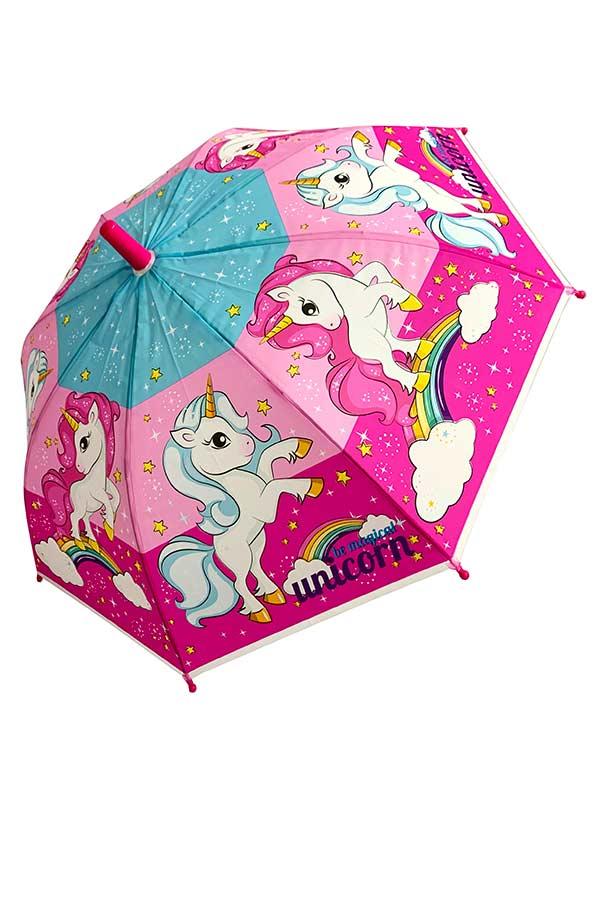Ομπρέλα παιδική μπαστούνι Unicorn 9623