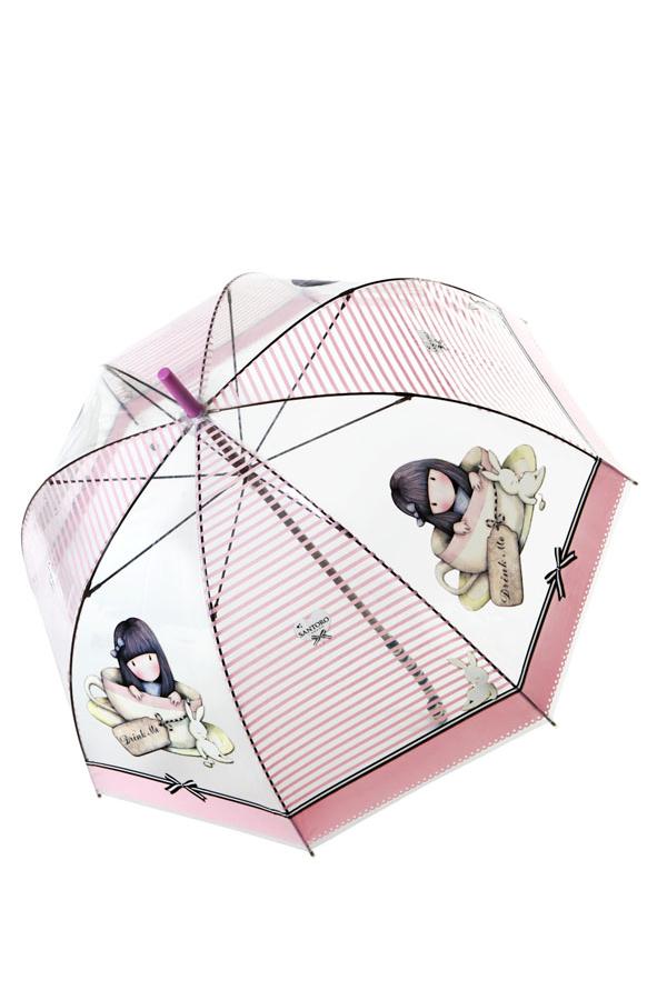 Ομπρέλα μπαστούνι Santoro gorjuss Lady sweet tea 76-0023-10-7