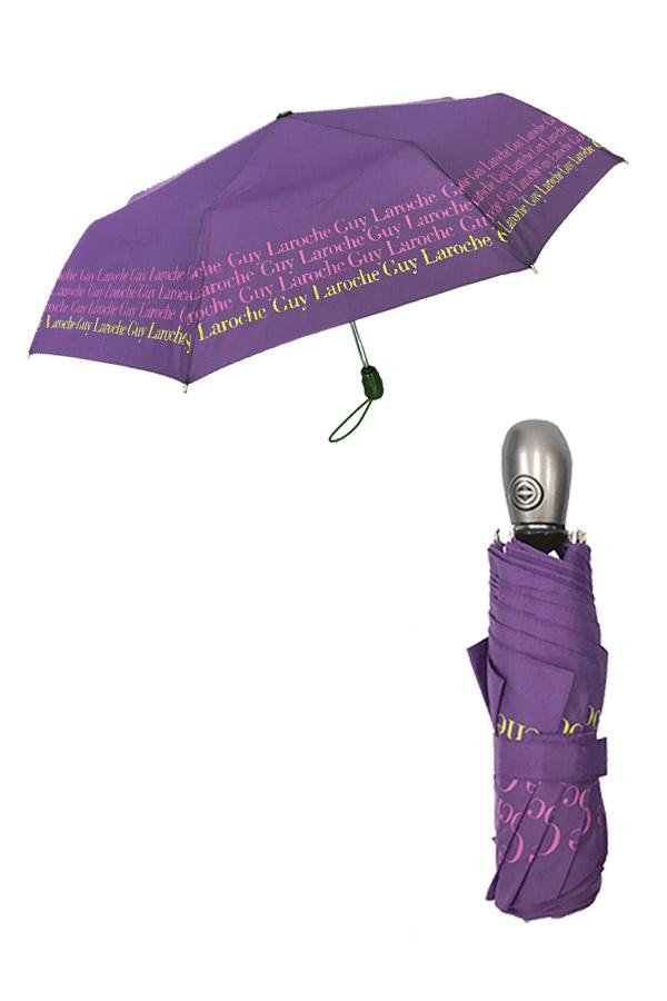 Ομπρέλα σπαστή αυτόματη μωβ Guy Laroche 8354