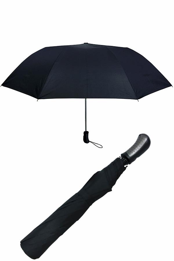 Ομπρέλα σπαστή αυτόματη μαύρη Guy Laroche 8140