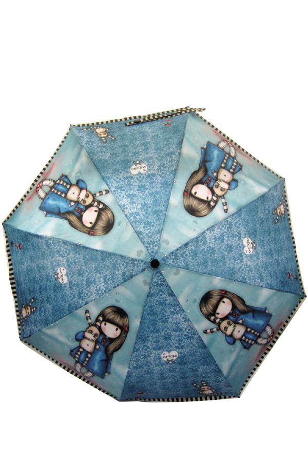 Ομπρέλα σπαστή αυτόματη Santoro gorjuss Hush little bunny 76-0006-10