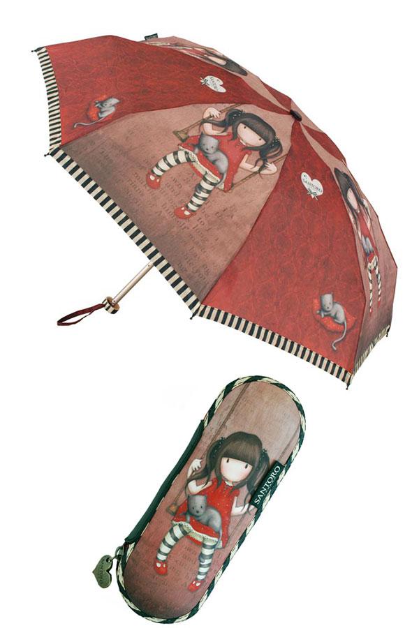 Ομπρέλα σπαστή Santoro gorjuss Ruby 76-0003-10