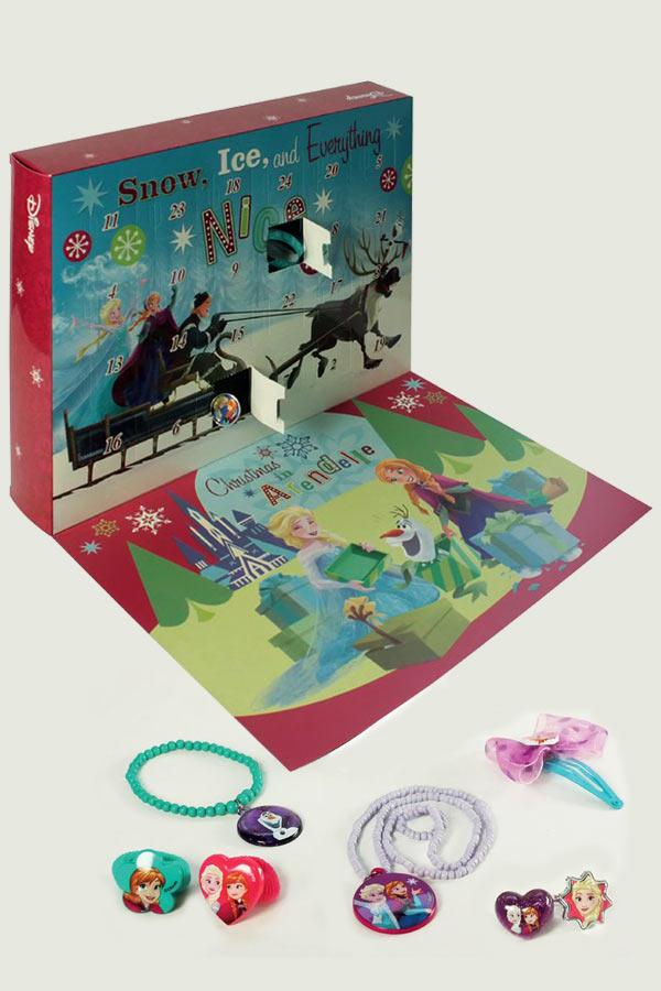 Χριστουγεννιάτικο ημερολόγιο με αξεσουάρ Frozen 0561844