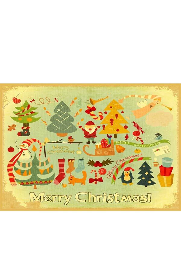 Σουπλά σερβιρίσματος Χριστουγεννιάτικα 2τμχ SKAG 243889