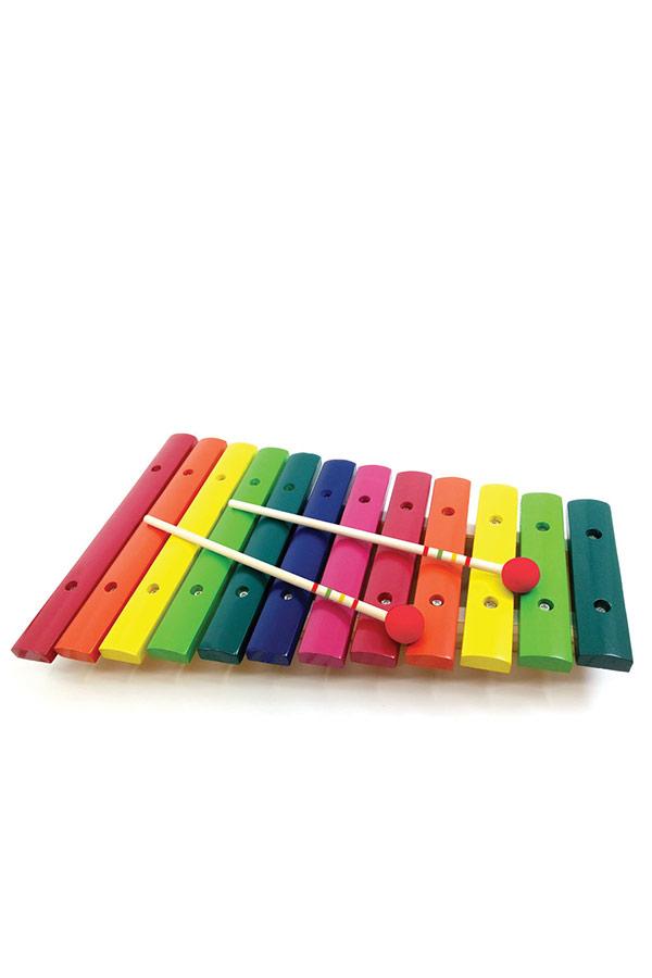 Ξυλόφωνο χρωματιστό 12 νότες SVOORA 250002