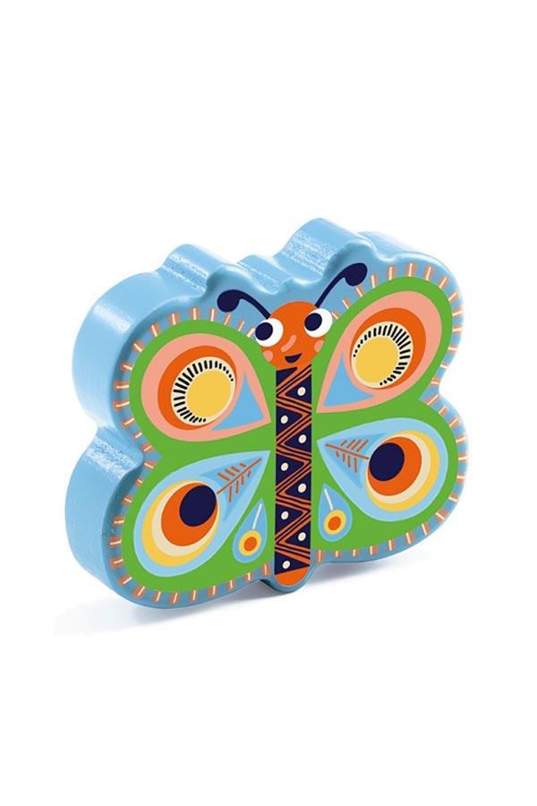 Μαράκα παιδική Djeco πεταλούδα DJ06017