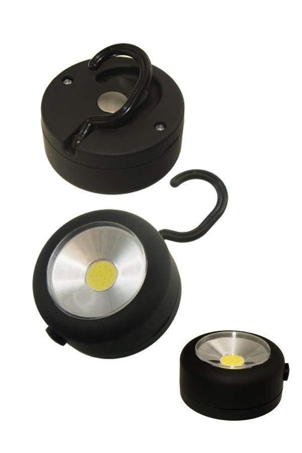 Φακός LED κρεμαστός και μαγνητικός Stop and Look 658394