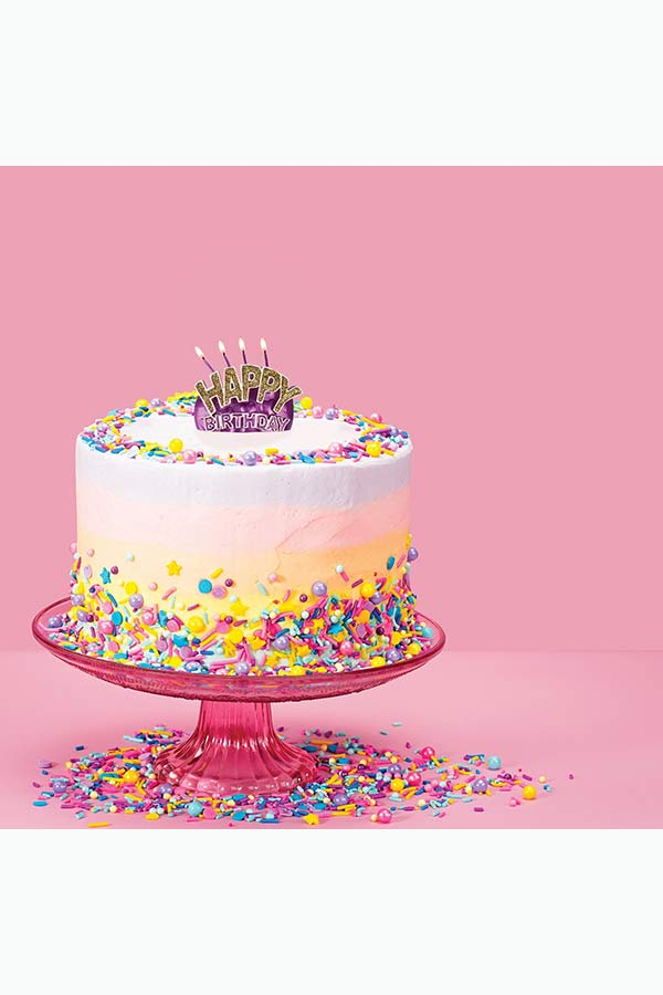 Κερί τούρτας Happy Birthday LEGAMI HAP0001