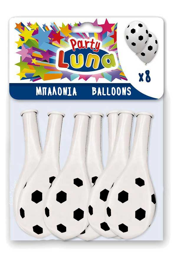 Μπαλόνια μεγάλου μεγέθους 8 τεμ Μπάλα ποδοσφαίρου 0088934
