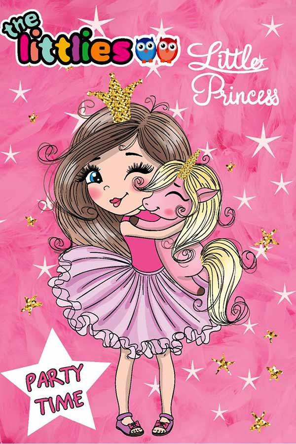 Προσκλήσεις πάρτυ για κορίτσια - PARTY TIME Little Princess the littlies 0646740